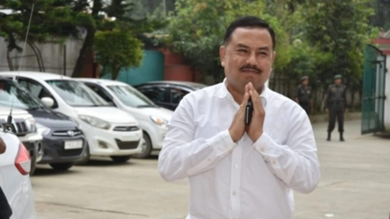 Okendra is a New Congress Minister of Manipur after Gangmei