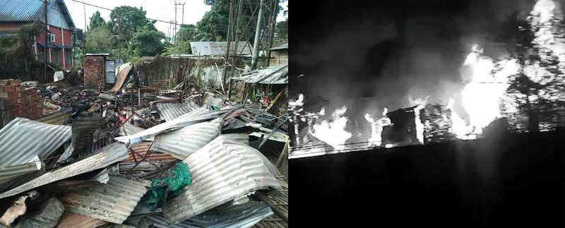 Five family members dead after fire burns down their house in Dibrugarh