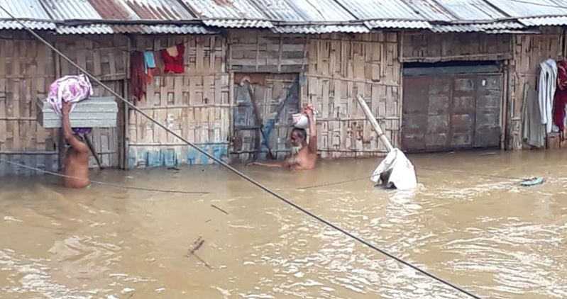 KAAC CEM Tuliram Ronghang Reached Flooded Areas in Karbi Anglong