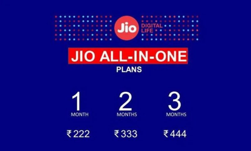 Jio's New 'All-In-One' Plans Include Free Interconnect Usage Charges Minutes
