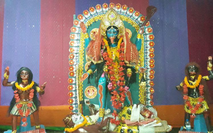 Kali Puja Celebration in Demow