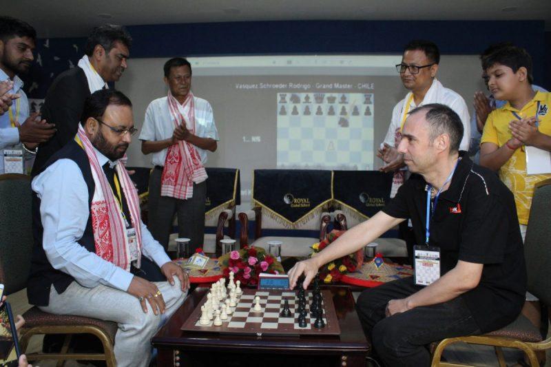 Guwahati India Open International Rating Chess Tournament Begins