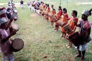 Karbi Traditional Drum