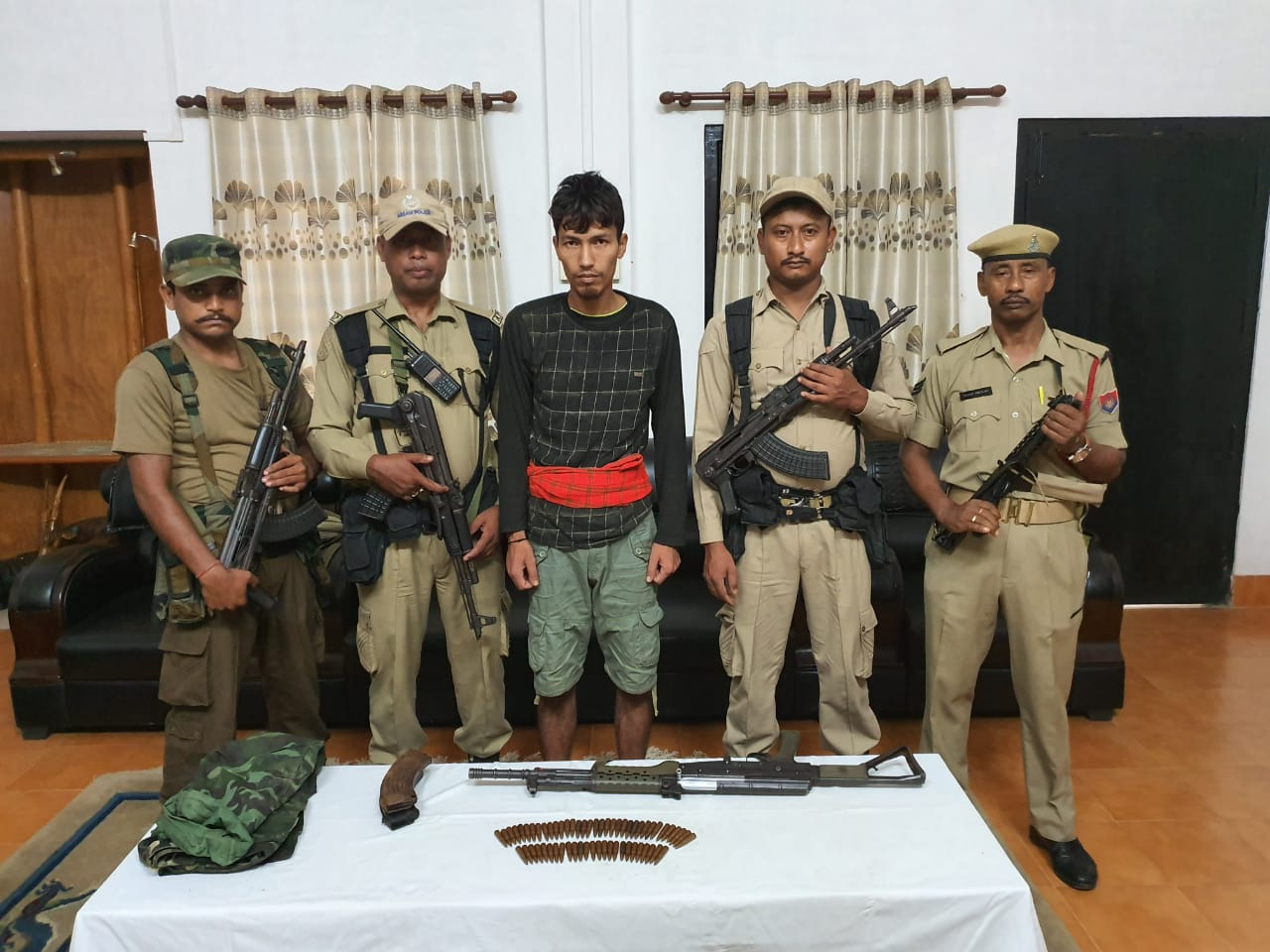 ULFA (I) cadre apprehended during joint operation in Tinsukia, Arms Recovered