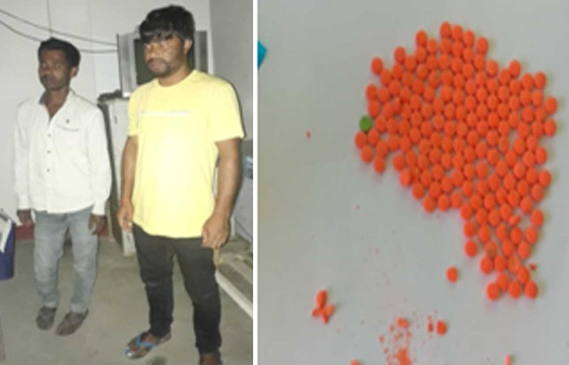 BSF apprehended two Indian Nationals along with 1450 Yaba Tablets from Dhubri