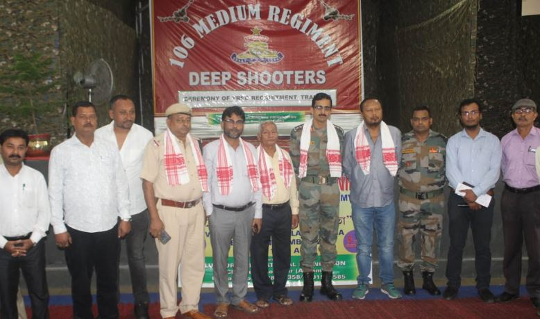 106 Medium Regt (Deep shooters) encourage locals to join Armed forces