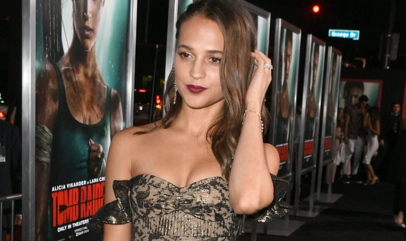 Actress Alicia Vikander has a Strict Sex Scene Policy