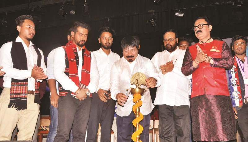 Regional political party AGP launched students