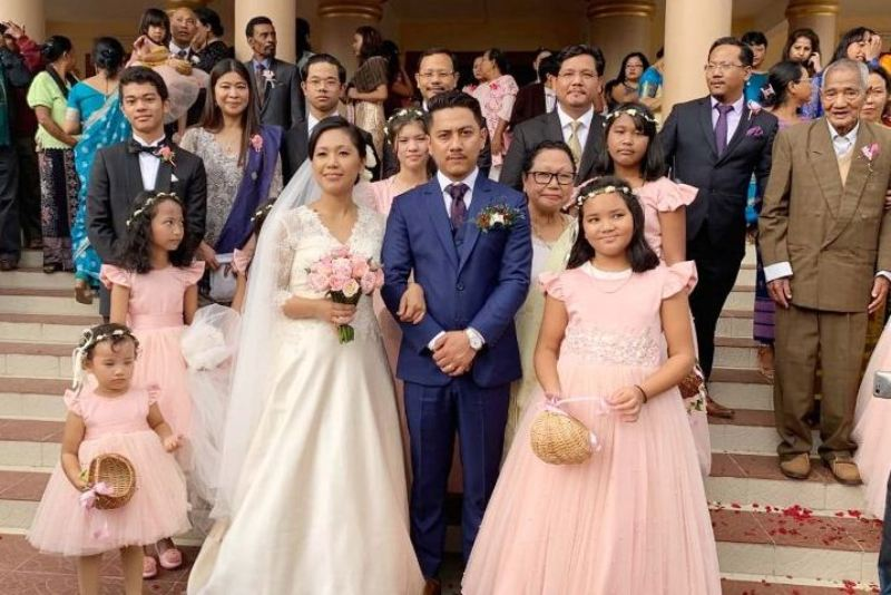 Agatha Sangma ties the knot with Patrick Rongma Marak