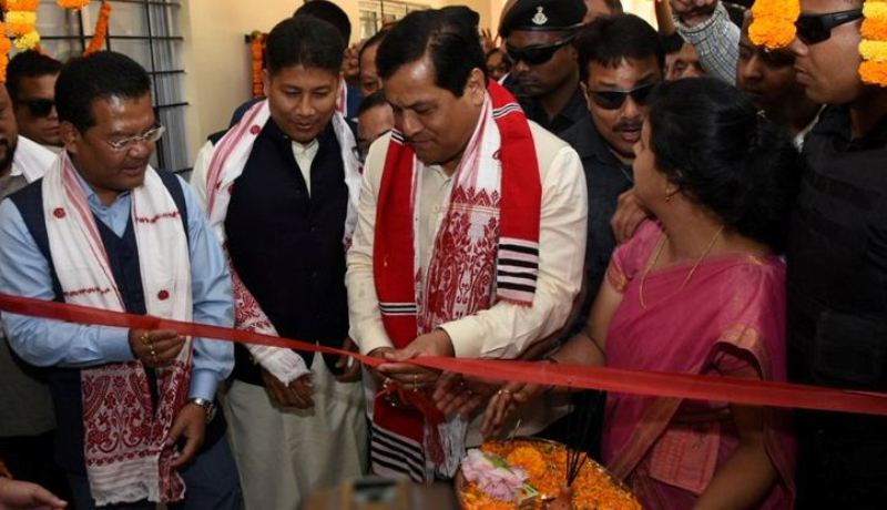 Sarbananda Sonowal inaugurates Jengraimukh Model Hospital at Majuli