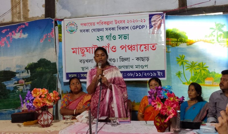 Cachar Deputy Commissioner Laya Madduri Interacts with Students