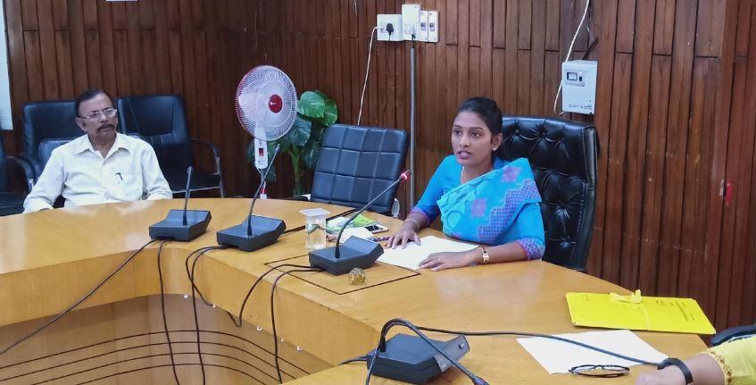 Cachar Deputy Commissioner Laya Madduri Briefs Media Persons