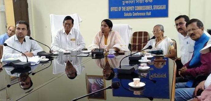 Sivasagar DC MS Lakshmi Priya inaugurates Vermi compost project