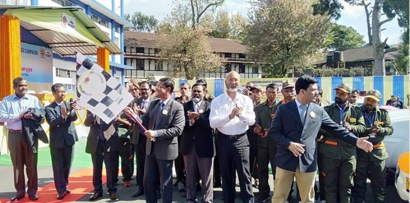 IOC distributes saplings to School Children in Meghalaya