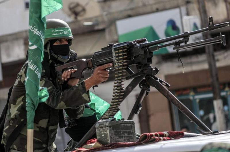 Israel targets Hamas sites after two rockets were Fired