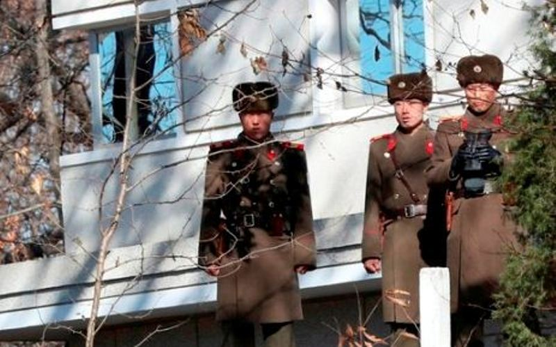 South Korea fires warning shots at North Korean merchant vessel