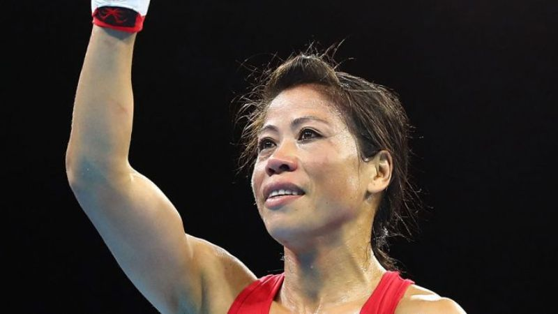 Six-time world Champion MC Mary Kom is now Mary Kom OLY