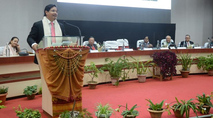 Entrepreneurs must take advantage of changes: CM Conrad K Sangma