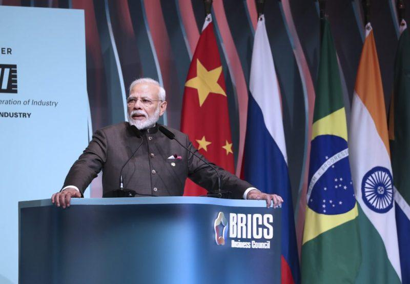 Modi bats for boosting intra-BRICS trade to $500 bn