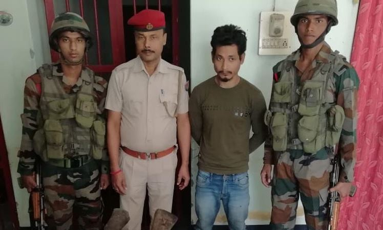 NDFB(S) Cadre Nabbed by Indian Army and Chirang Police