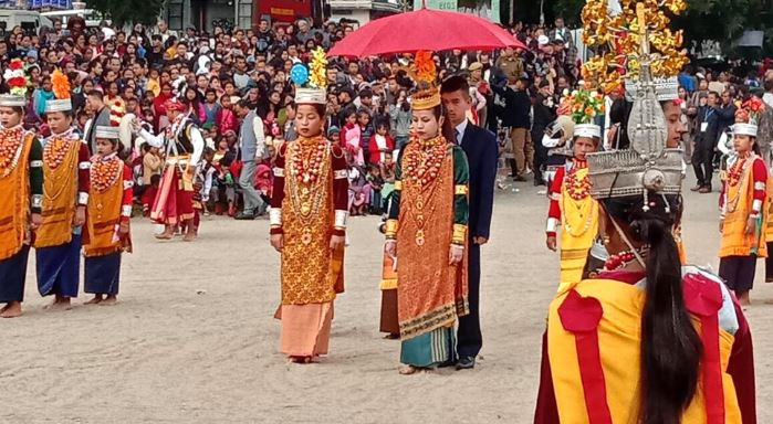 Nongkrem Dance Festival 'Ka Pomblang' celebrated at Smit, Shillong