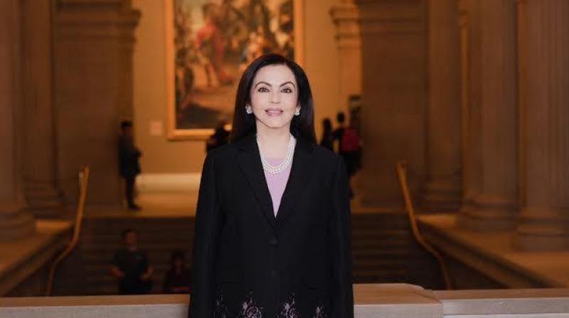 Image result for Nita Ambani elected an honorary trustee of New York's Metropolitan Museum of Art