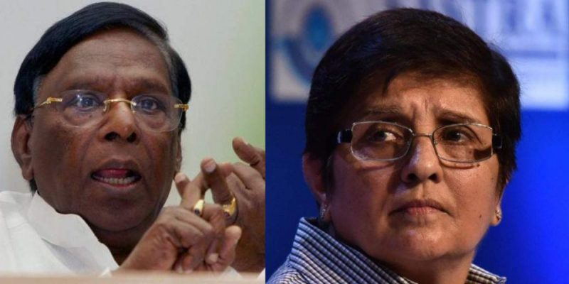 Puducherry Lt. Governor Kiran Bedi Termed Uncouth by CM Narayanasamy