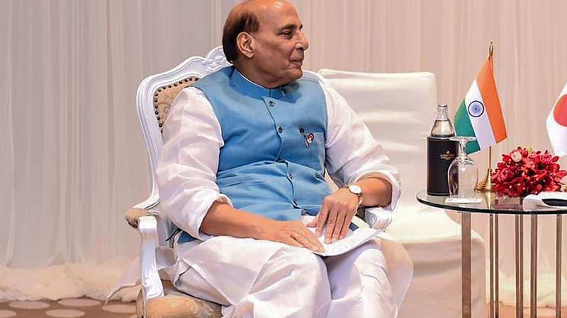 India targets $26 bn defense industry by 2025: Rajnath Singh