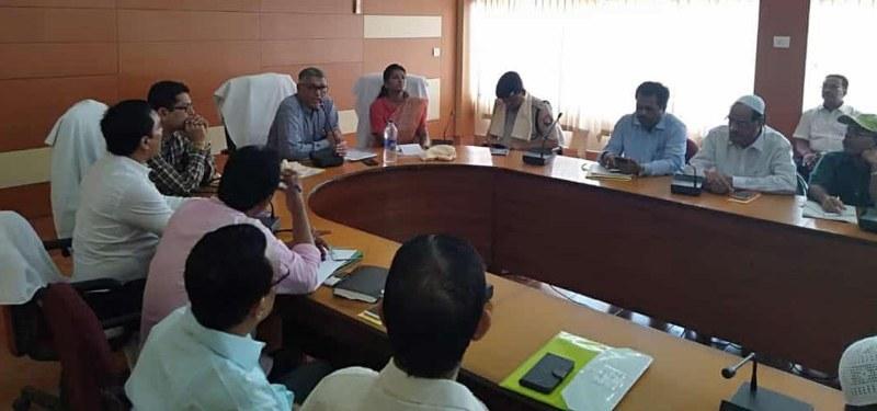 SEBA ChairmanRC Jain Holds Meetingfor Smooth Conduct of TET Exams