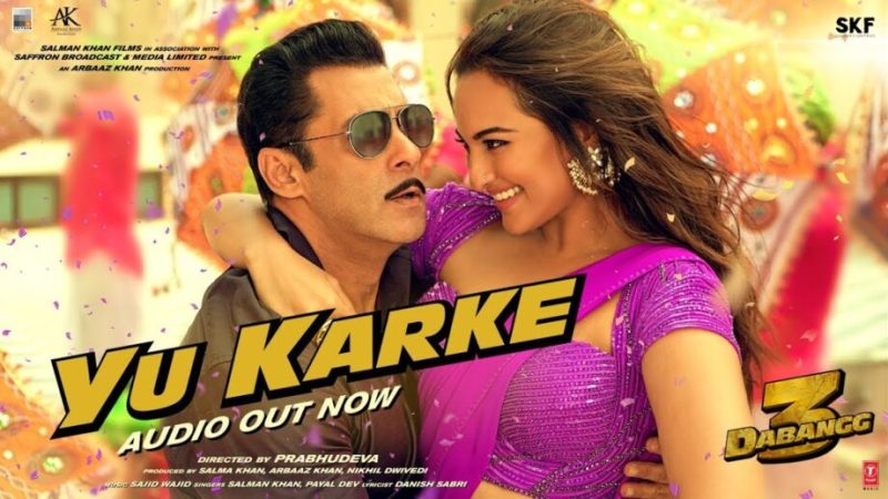 Salman Khan Sings for Dabangg 3, Song out Now
