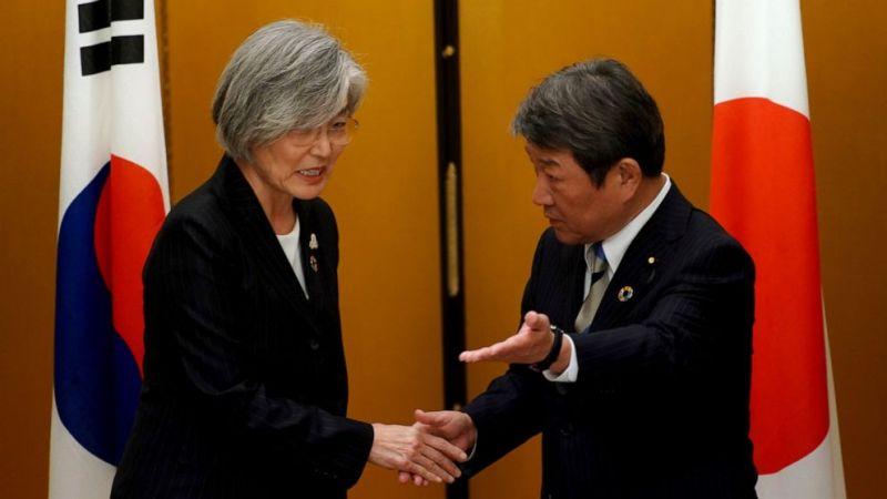 Intelligence-sharing pact between South Korea & Japan