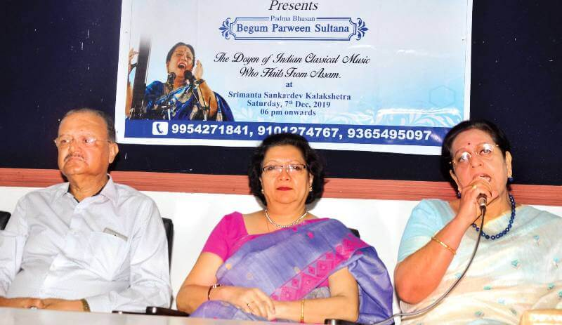Renowned singer Parveen Sultana to enthrall music lovers in Guwahati
