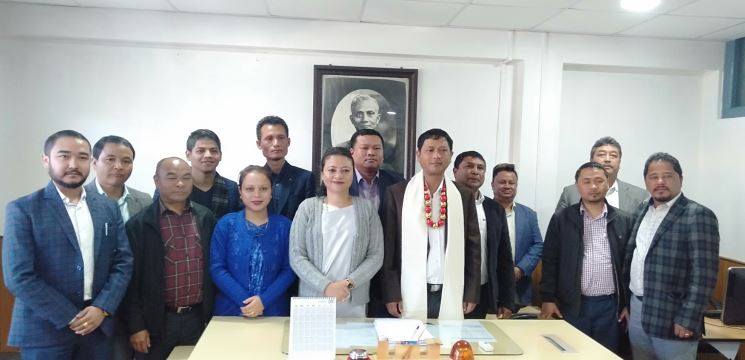 Latiplang Kharkongor is the new Chief Executive Member of KHADC