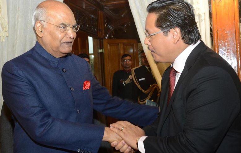 President Ram Nath Kovind arrives in Meghalaya to address convocation of NEHU