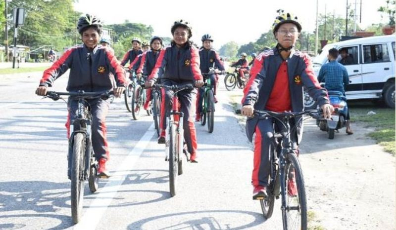Indian Army under Operation Sadbhavana organizes All-girls Cycling Expedition