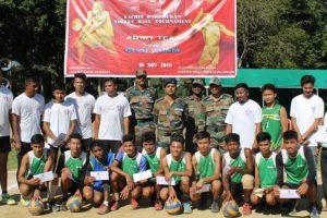 Lachit Borphukan Volleyball