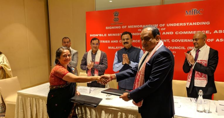 Assam signs MoU with Malaysia-India Business Council (MIBC) at Guwahati