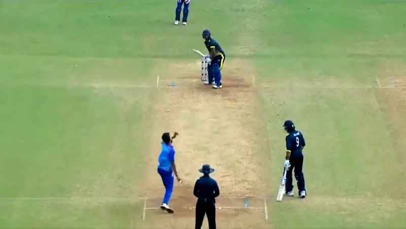 Meghalaya Beats Mumbai by 6 wickets in Syed Mushtaq Ali Trophy at Wankhede Stadium