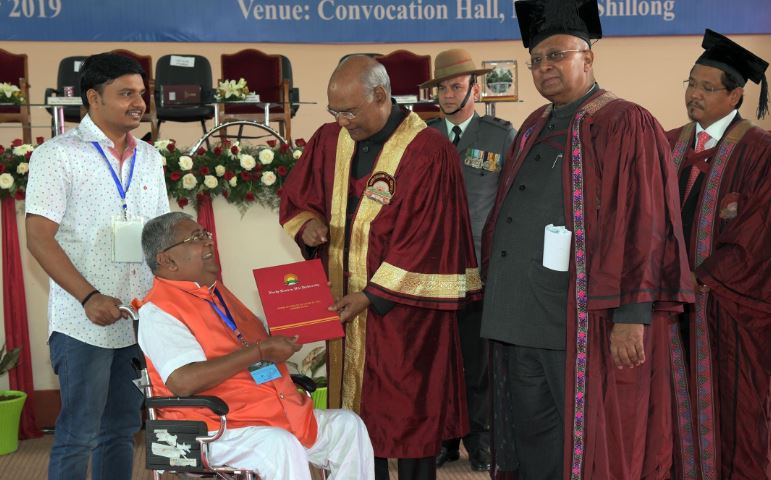26th Convocation of North Eastern Hill University (NEHU), Shillong