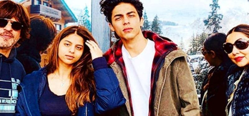Shah Rukh Khan's family photo goes viral on Instagram