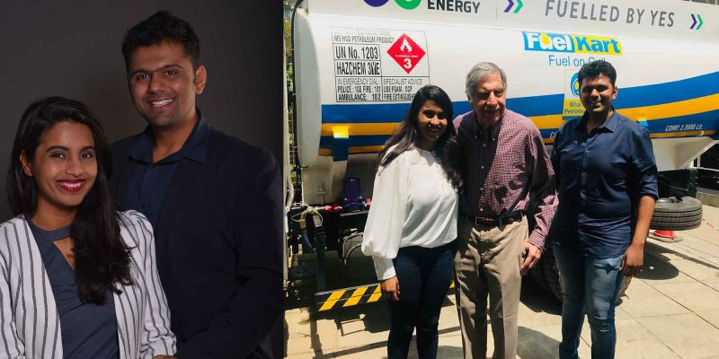 Backed by Ratan Tata, this couple is changing the game of diesel distribution in India