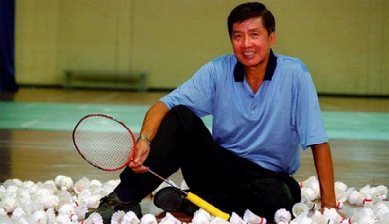Badminton Legend Rudy Hartono Kurniawan