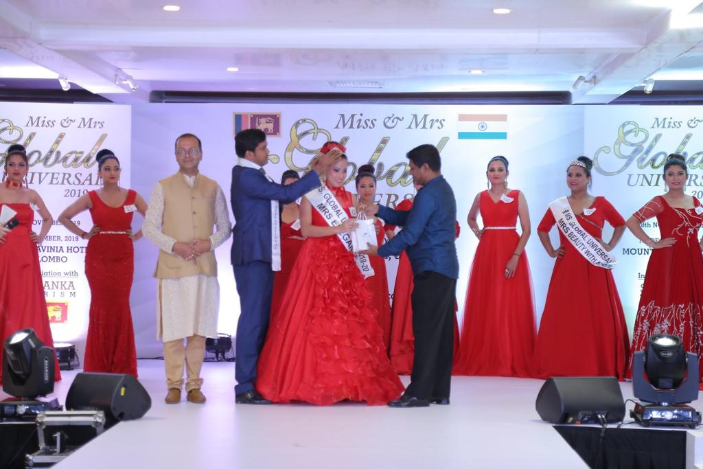 Assam's Sanghamitra Deka shines in Miss & Mrs. Global Universe Contest 2019-20