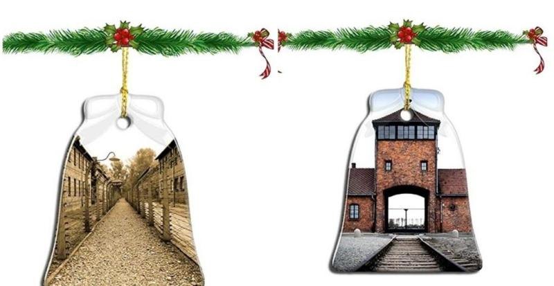 Amazon pulls out Auschwitz-themed Christmas Ornaments