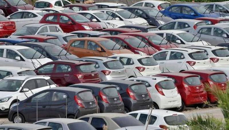 Automobile sales continued to decline by 12 percent