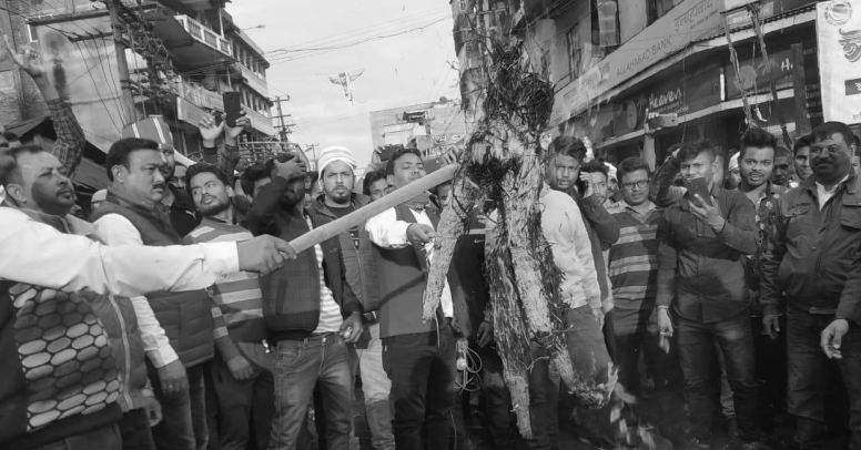 Thousands come out on streets in Lakhimpur to protest against CAB