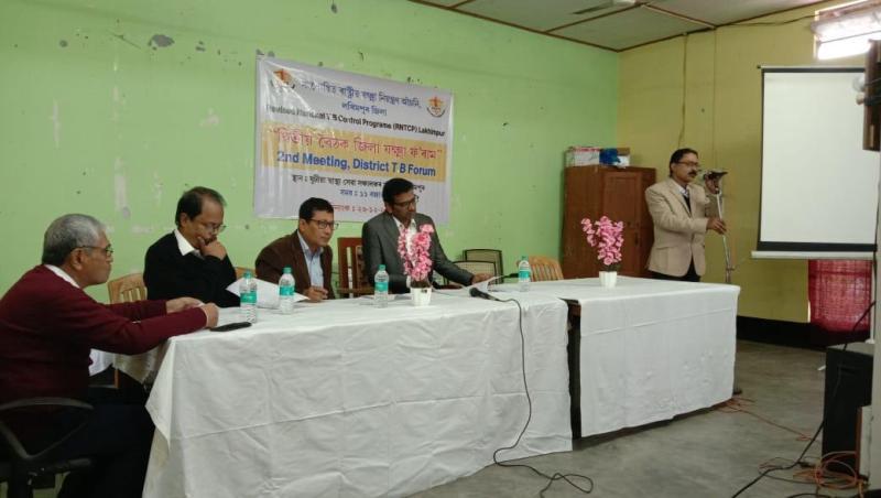 District Tuberculosis Forum meet held in Lakhimpur
