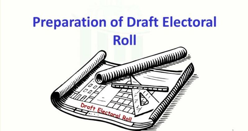 Golaghat district administration published draftelectoral roll for 2020