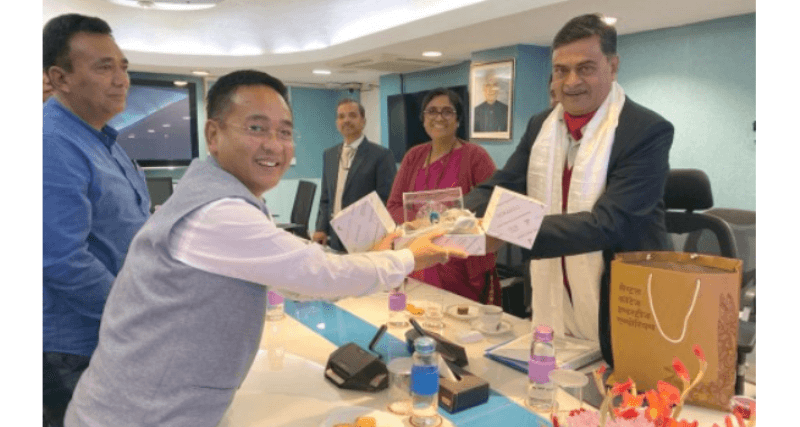 TEESTA III HEP: Chief Minister P.S. Golay Submits Urgent Refinancing Need To Union Power Minister