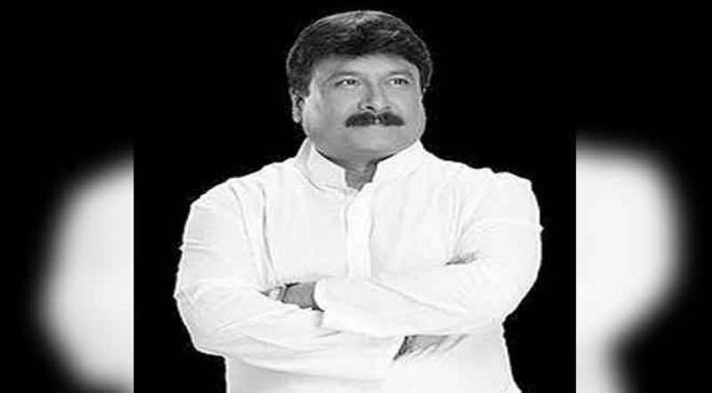 Jagadish Bhuyan takes part in fast